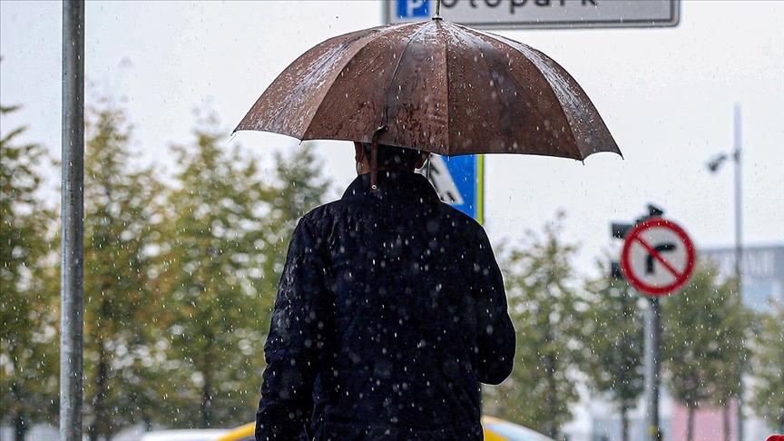 Ülkenin kuzey ve doğu kesimlerinde bugün yağış etkili olacak!