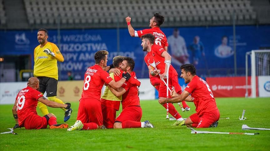 Ampute Futbol Milli Takımı, Avrupa Şampiyonası'nda finalde!