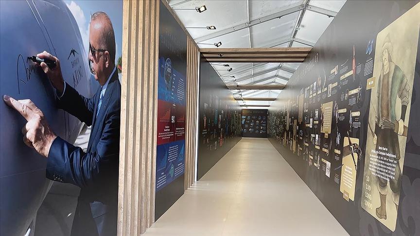 Mete Han'dan Cumhurbaşkanı Erdoğan'a Türk savunma sanayisinin yolculuğu TEKNOFEST'te
