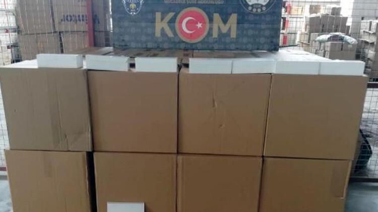 Adana'da kaçakçılık operasyonu: 9 Gözaltı
