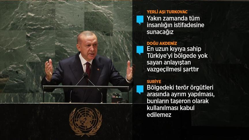 Erdoğan: Paris İklim Anlaşması'nı, önümüzdeki ay Meclisimizin onayına sunmayı planlıyoruz