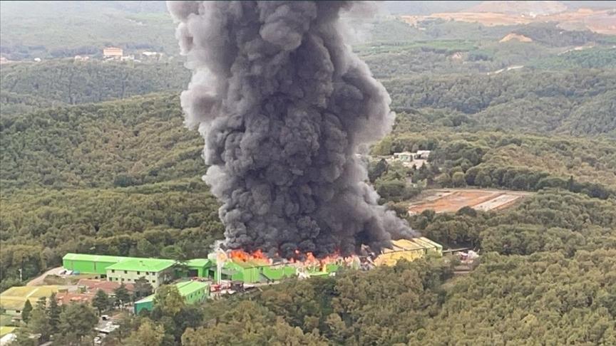 Şile'de fabrika yangını kontrol altında!
