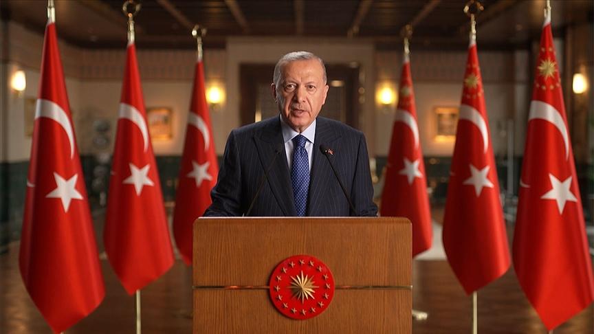 Erdoğan: Evlatlarımıza daha adil, daha yaşanabilir bir dünya bırakmak hepimizin ortak görevidir