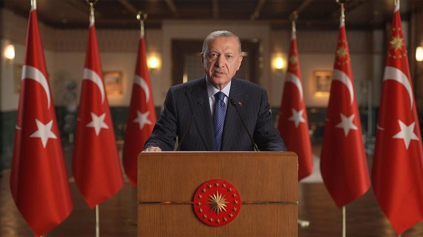 Erdoğan: Ülkemiz iklim kriziyle mücadelede üzerine düşeni yapmaya devam edecek
