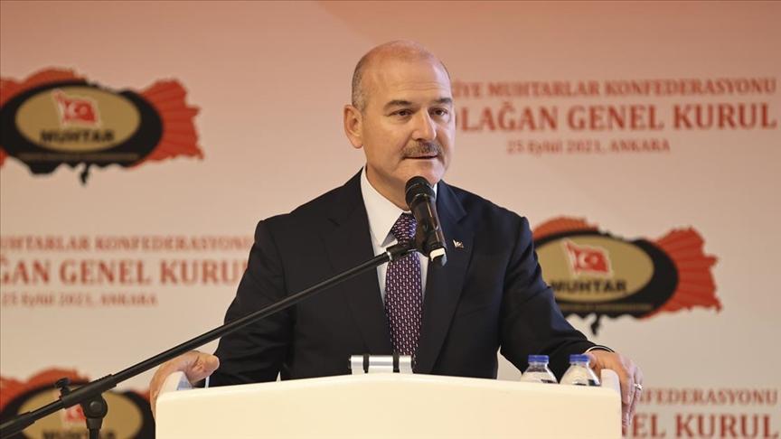 İçişleri Bakanı Soylu: Türkiye'deki terörist sayısı 189'a indi