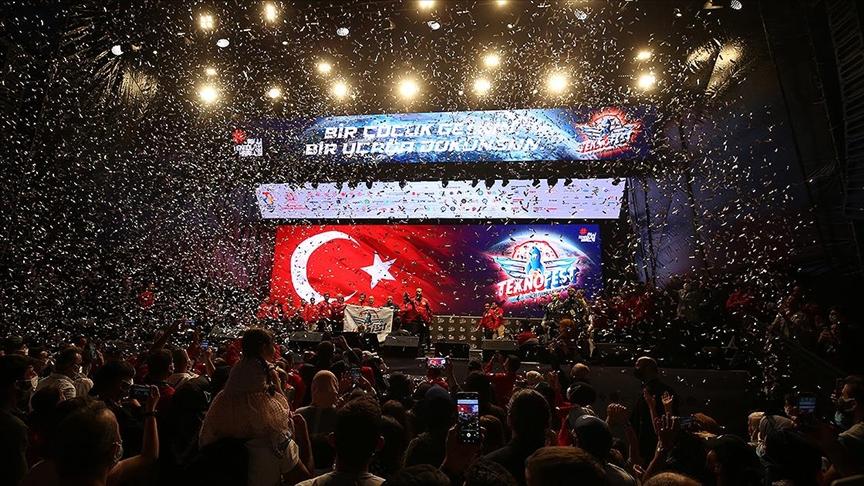 TEKNOFEST İstanbul 2021 sona erdi