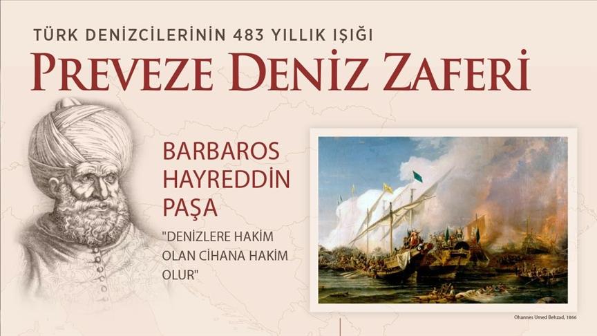 Preveze Deniz Zaferi 483 yıldır Türk denizcilerine ışık oluyor!