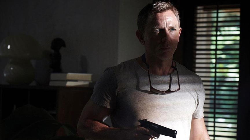 Daniel Craig 'James Bond' olarak tekrar beyaz perdede!