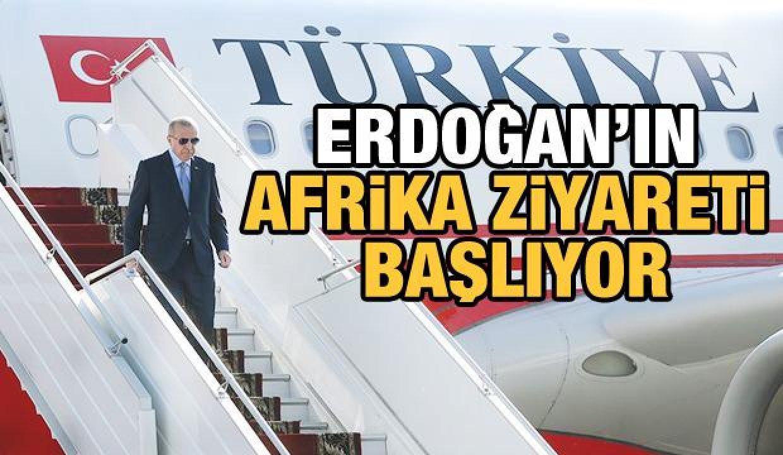 Cumhurbaşkanı Erdoğan'dan Angola, Togo ve Nijerya ziyareti