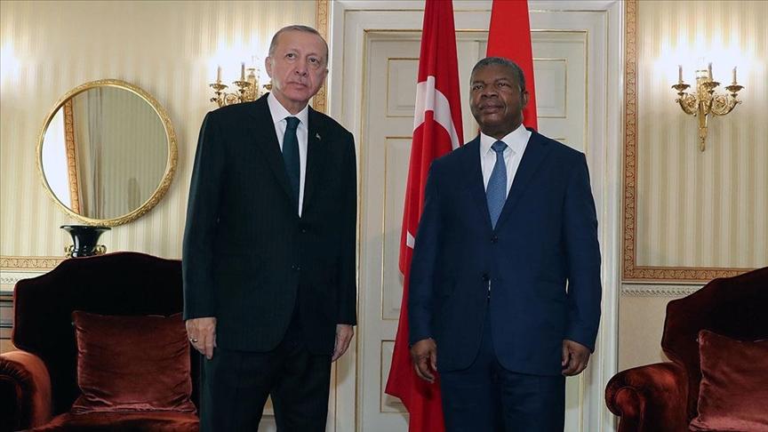 CANLI - Cumhurbaşkanı Erdoğan: Türkiye ile Angola'nın enerji konusunda ciddi iş birliği imkanlarının olduğuna inanıyorum