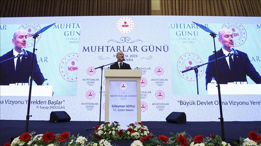 İçişleri Bakanı Soylu: Ankara'da Muhtar Evi açılacak!