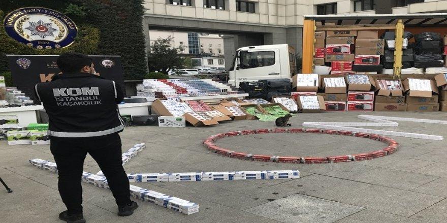 'İstanbul'da Kaçakçılık Operasyonu'