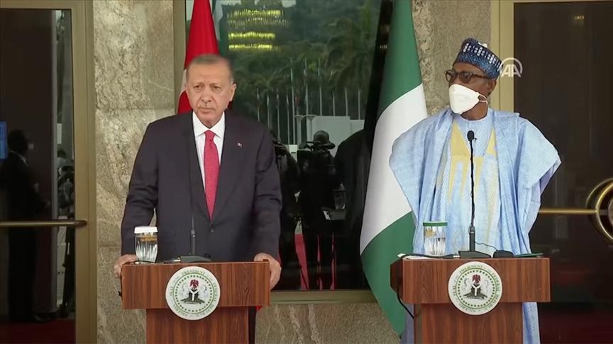 Cumhurbaşkanı Erdoğan'dan Nijerya'da flaş açıklamalar