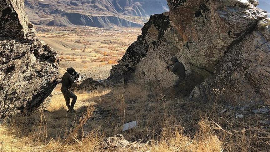 Eren-13 operasyonları kapsamında 4 terörist etkisiz hale getirildi