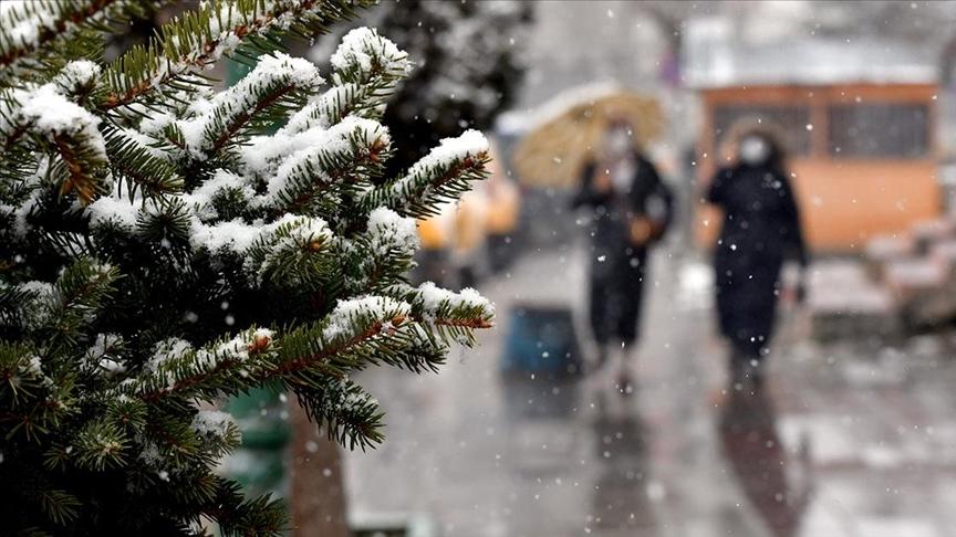 Doğu Anadolu'da karla karışık yağmur ve kar bekleniyor