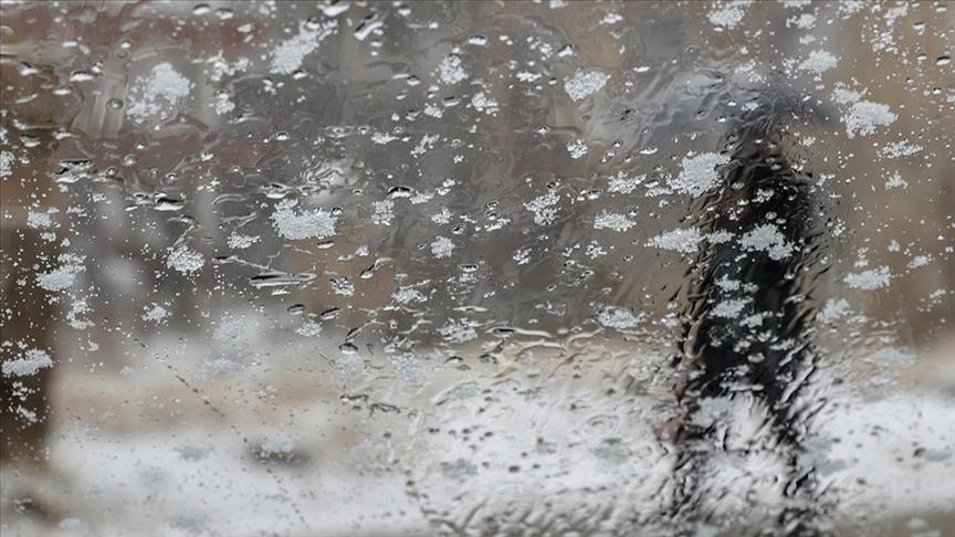 Doğu Anadolu'da karla karışık yağmur ve kar bekleniyor..