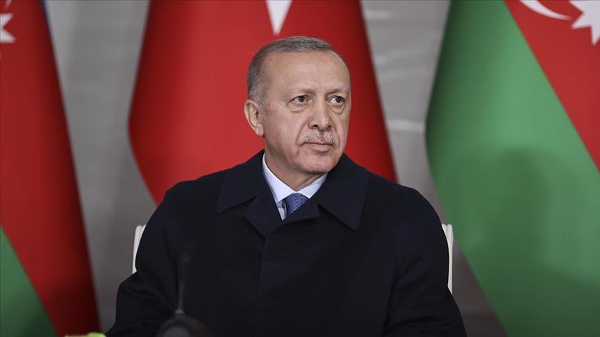 Cumhurbaşkanı Erdoğan: Kalıcı barış için ortam bugün hiç olmadığı kadar elverişli