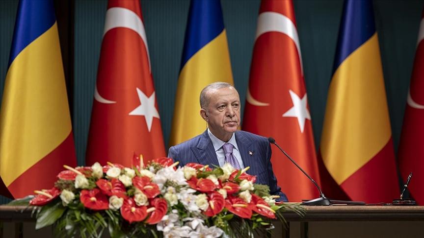 Cumhurbaşkanı Erdoğan: Çad'la askeri, savunma, güvenlik alanlarındaki iş birliğimizi geliştirmeye hazırız