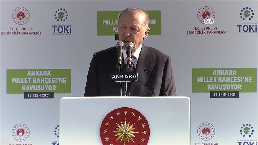 CANLI - Cumhurbaşkanı Erdoğan konuşuyor..