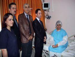 Dicle Üniversitesi Tıp Fakültesi Hastanesinde Beyin Tümörüne Bıçaksız Ulaşıldı