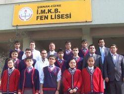 Tubitak, Cizre Fen Lisesi'nin 7 Projelerinden 4'ünü Kabul Etti