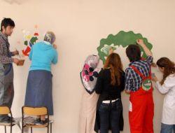 Nasrettin Hoca İle Keloğlanın Resimleri Okul Duvarlarını Süsleyecek