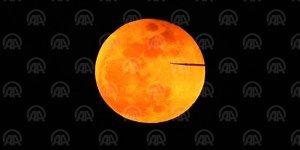 Başkentte 'Süper Kanlı Mavi Ay' tutulması