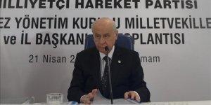 Bahçeli: MHP mensuplarından hiçbir tanesi aday olarak çıkmamıştır