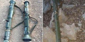 Hakkari'de tanksavar silahı ve hava savunma füzesi ele geçirildi