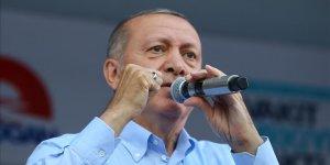 Erdoğan: Muasır medeniyetler seviyesinin üstüne çıkacağız