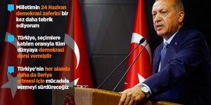 """""""Türkiye tüm dünyaya demokrasi dersi vermiştir"""""""