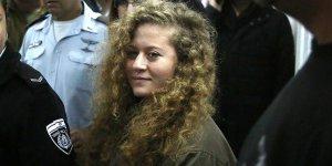 Filistinli cesur kız Temimi serbest bırakıldı!