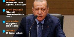 Erdoğan: Suriye'nin en büyük sorunu Fırat'ın doğusunda büyüyen terör bataklığı