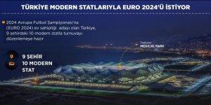 Türkiye modern statlarıyla EURO 2024'ü istiyor