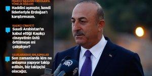 Çavuşoğlu: Fransa Dışişleri Bakanı her şeyden önce haddini aşmıştır