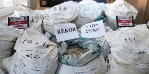 'Erzincan'da ele geçirilen eroinde tarihi rekor'
