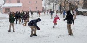 'Eğitime Kar Engeli'