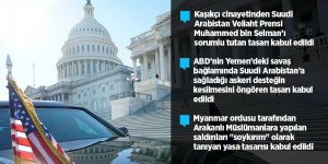 ABD'de Senato ve Temsilciler Meclisi'nden kritik kararlar