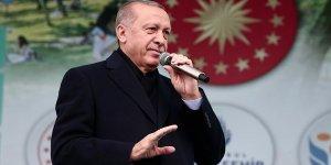 Erdoğan: Teröristleri açtıkları çukurlara gömmeye devam edeceğiz