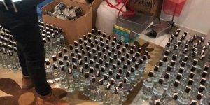 Yılbaşı öncesi sahte alkollü içki operasyonu