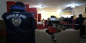 İstanbul Emniyeti'nden Kaçakçılık Operasyonu