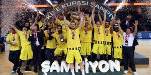 Erkekler Türkiye Kupası Fenerbahçe'nin..