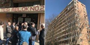 Bahçelievler'de 11 katlı bina boşaltılıyor!