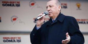 Erdoğan: Ne pahasına olursa olsun terör koridorunu yıkacağız