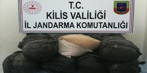 Kilis'te PKK'nın 1 milyon 500 bin uyuşturucu hapı ele geçirildi!