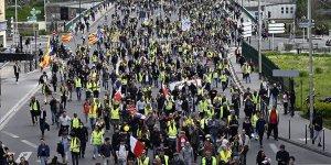 Sarı yelekliler gösterilerin 24. haftasında sokaklarda