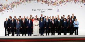 G20 Osaka Liderler Zirvesi başladı!