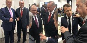 Cumhurbaşkanı Erdoğan'ın Japonya'da temasları