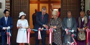 Cumhurbaşkanı Erdoğan Japonya'da 'Ara Güler Sergisi'ni açtı