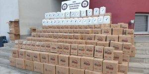 Adana'da 2 bin 395 litre etil alkol ele geçirildi!